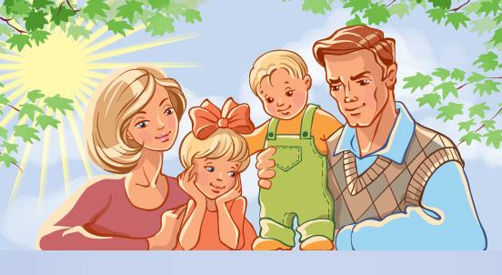 Картины на тему моя семья